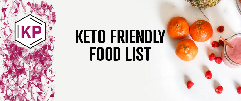 Keto Friendly Food List What Can And Can T You Eat On The Keto Diet